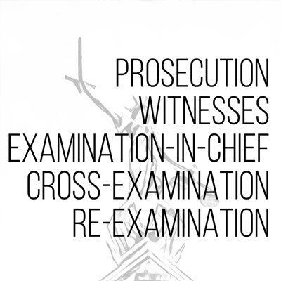 Prosecution Witnesses