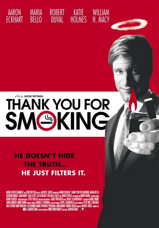 Thank You For Smoking (2006), another great ensemble cast movie.
