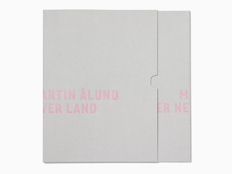 Exhibition catalogue designed by Perniclas Bedow
