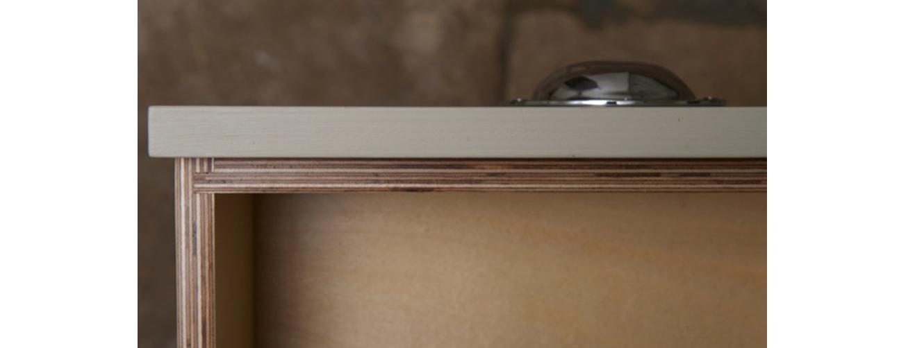 Drawer box detail