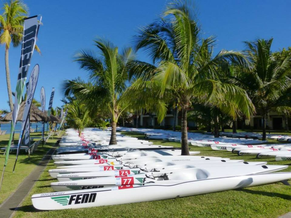 $400 000 worth of surf skis are used exclusively for the race.