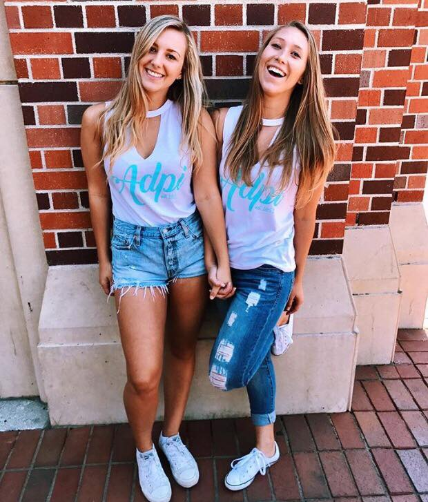Catch our sisters repping letters all recruitment week!