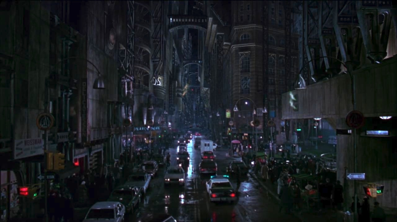 Batman 1989. The Gotham city set was so big Michelle Pfeiffer would get lost on her way every day of filming.