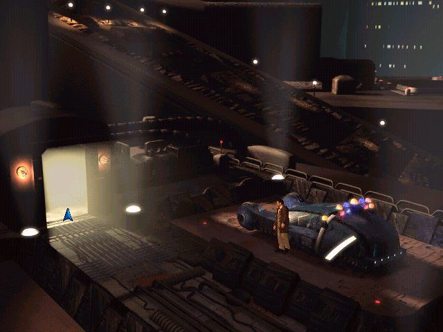 Blade Runner PC game. I played this game for hours on end.