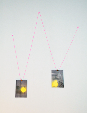 "W-VV ""The Falling Yellow ""  (Horizontal Thoughts/Looking at Home Vertically)-2012"
