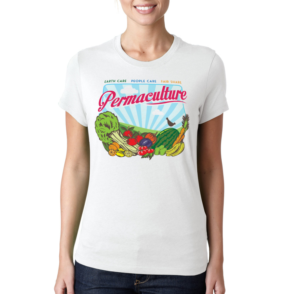 Permaculture t-shirt (Womens) / $35
