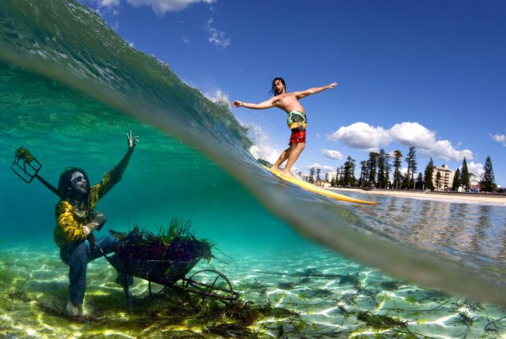 """Seafloor foraging"" by Scott Needham"