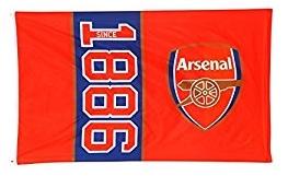 Arsenal Flag Since 1886 5 X 3