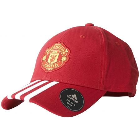 adidas MUFC 3 Stripe Cap Manchester United FC
