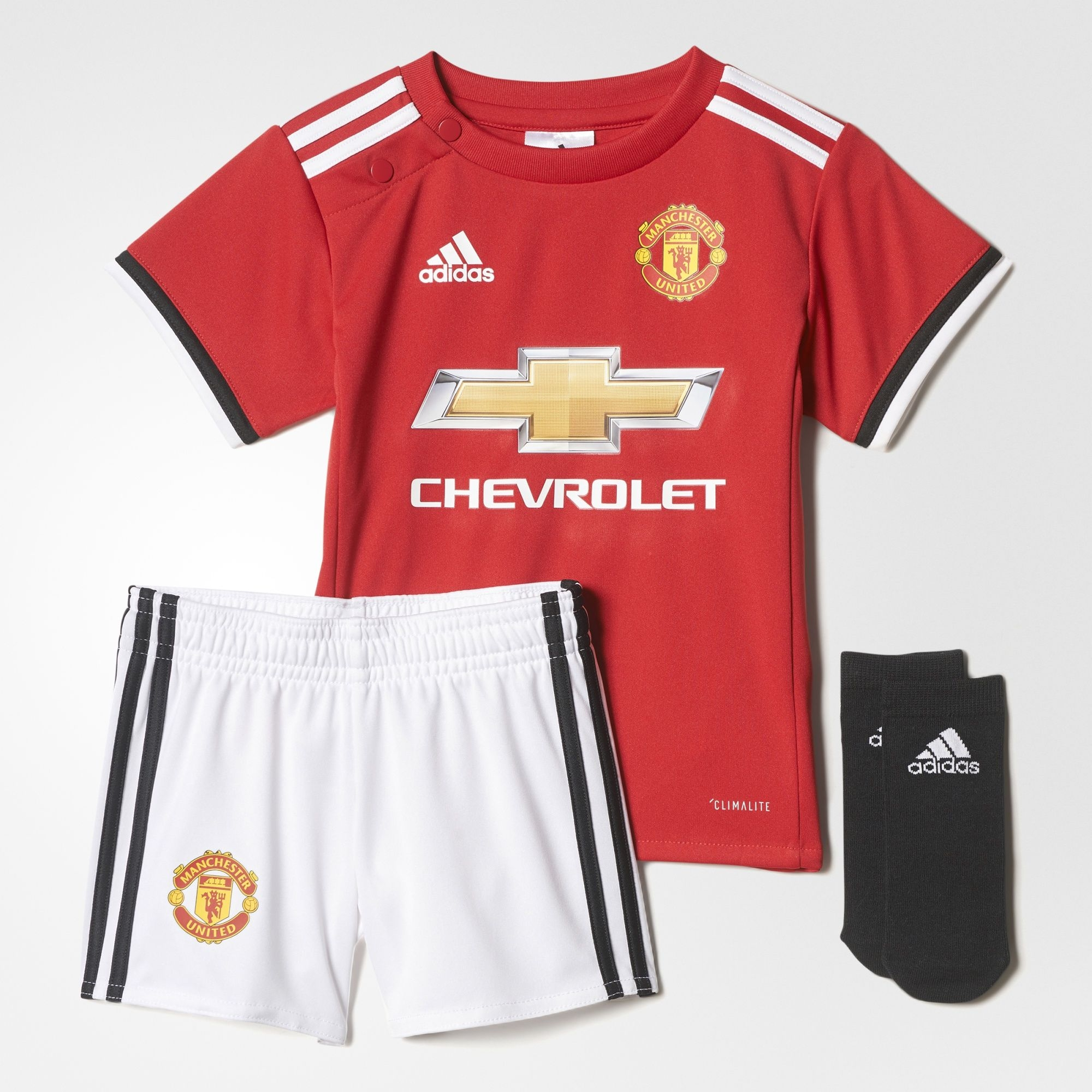 adidas Manchester United Toddler Home Kit
