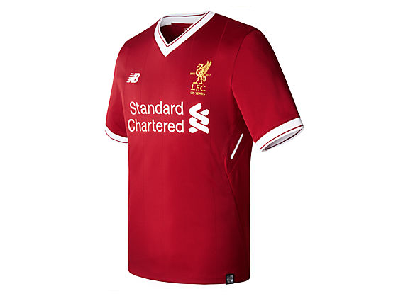 New Balance Liverpool 17/18 Youth Home Jersey