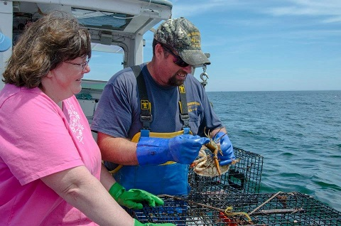 john and Theresa chipman, Jr enjoying a beautiful summer day fishing.