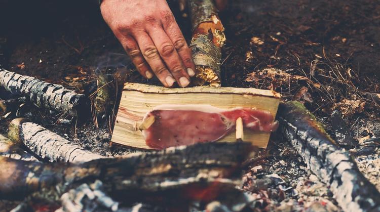 wild cooking in dorset