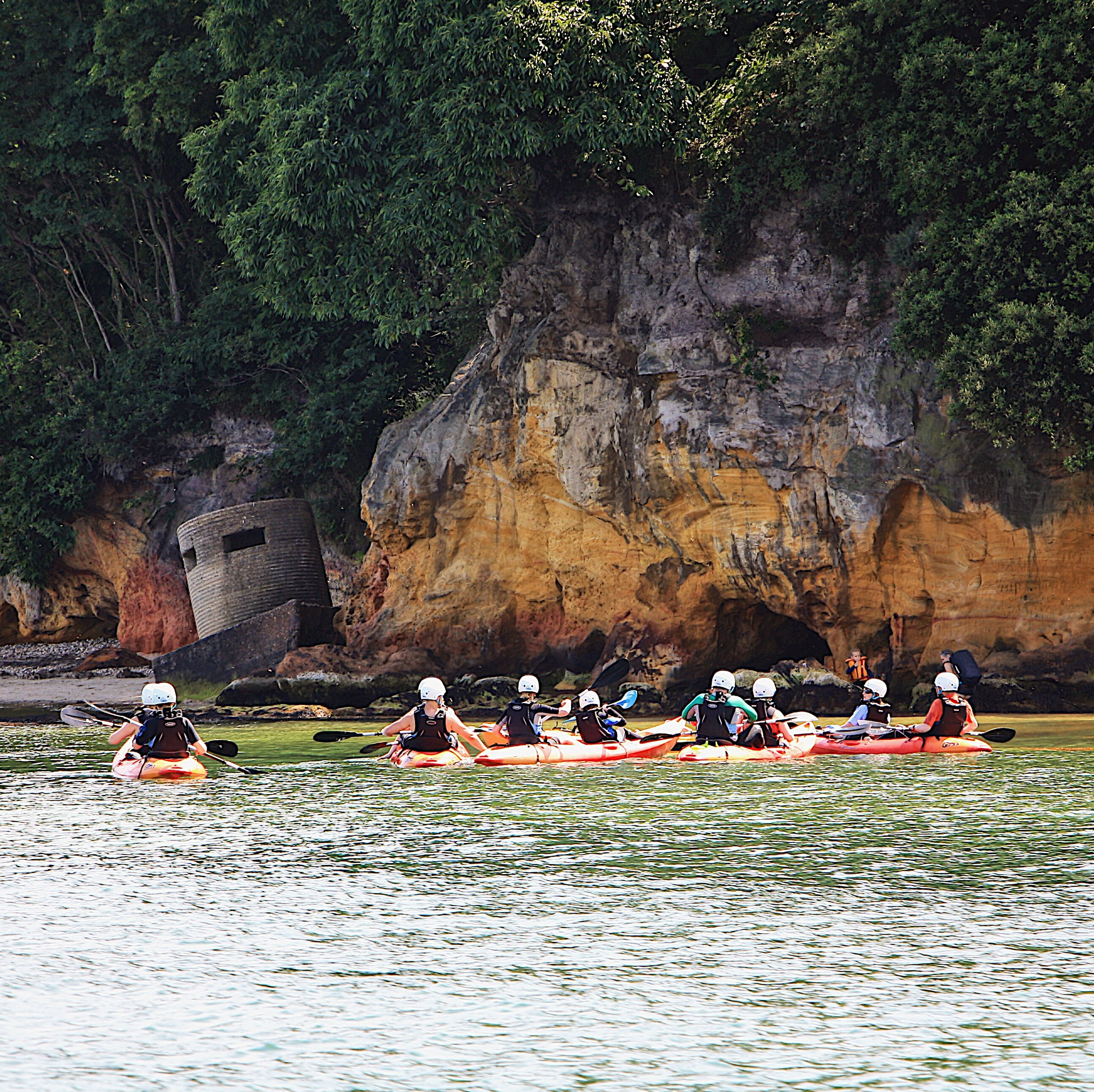 kayaking tours in dorset with foreadventure
