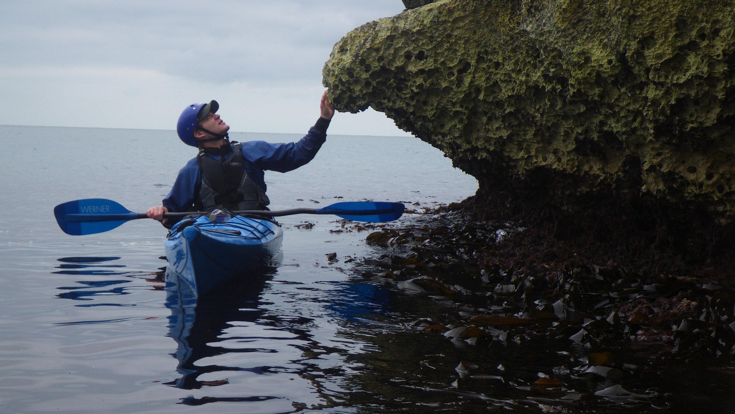 sea kayaking along the dorset coast