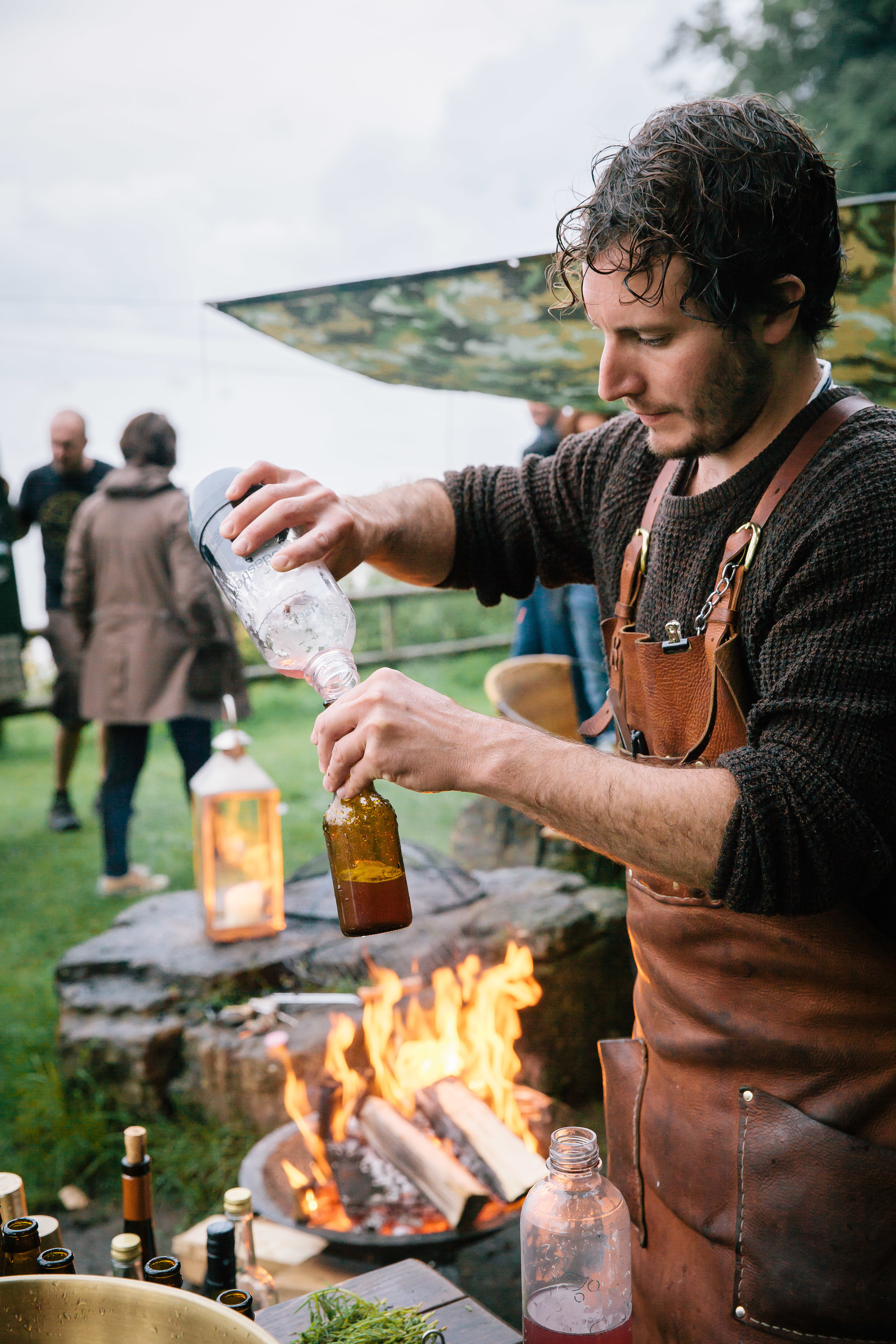 forage, fire and feast with fore adventure in dorset