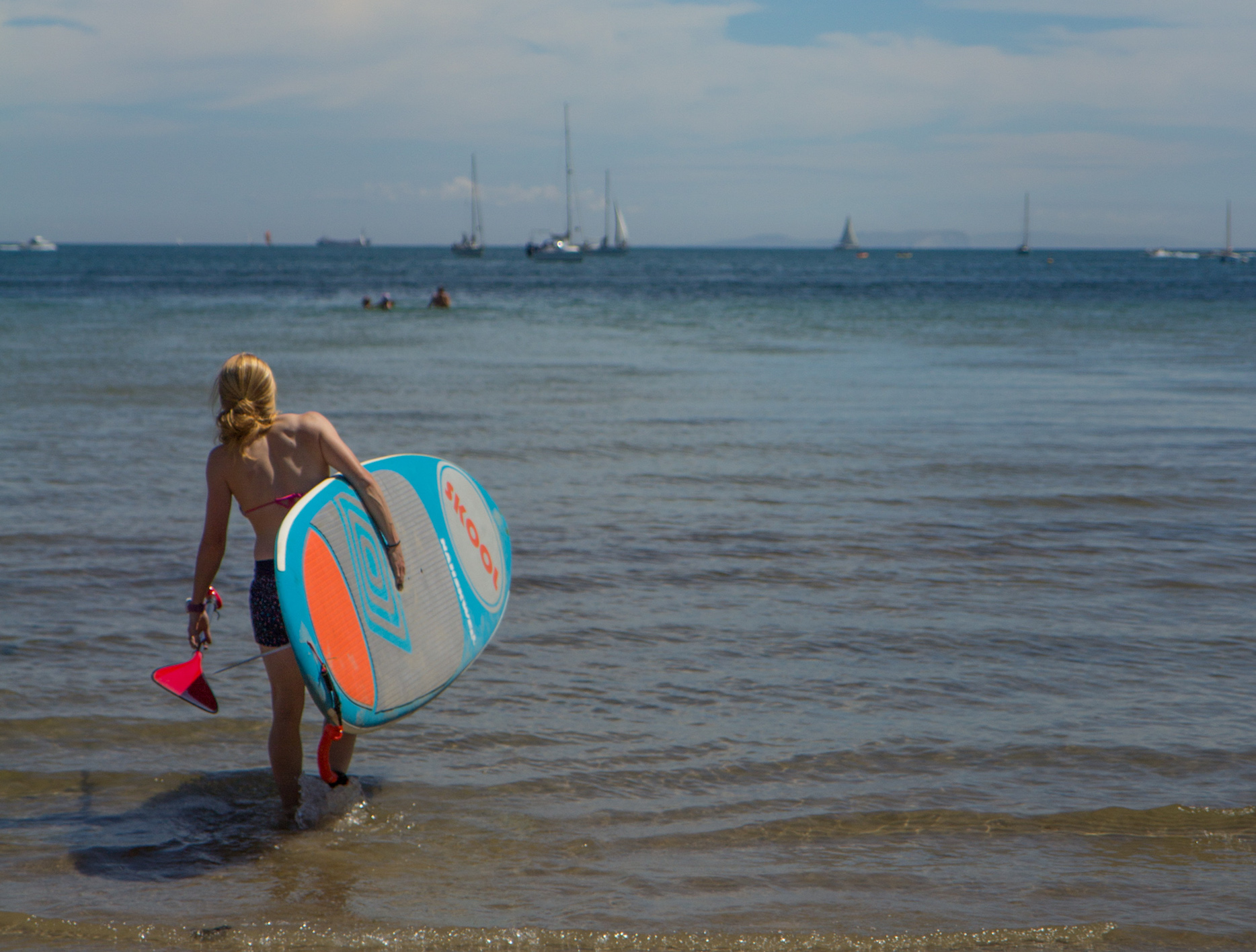 stand up paddleboarding courses in studland dorset