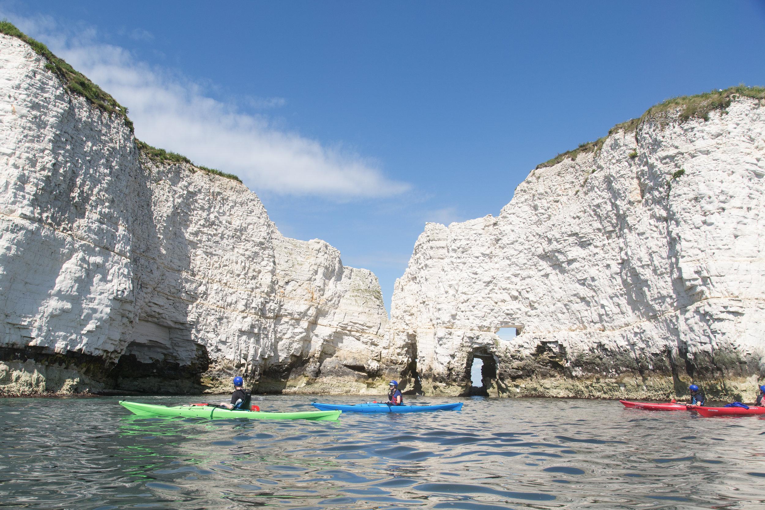 sea kayaking tuition