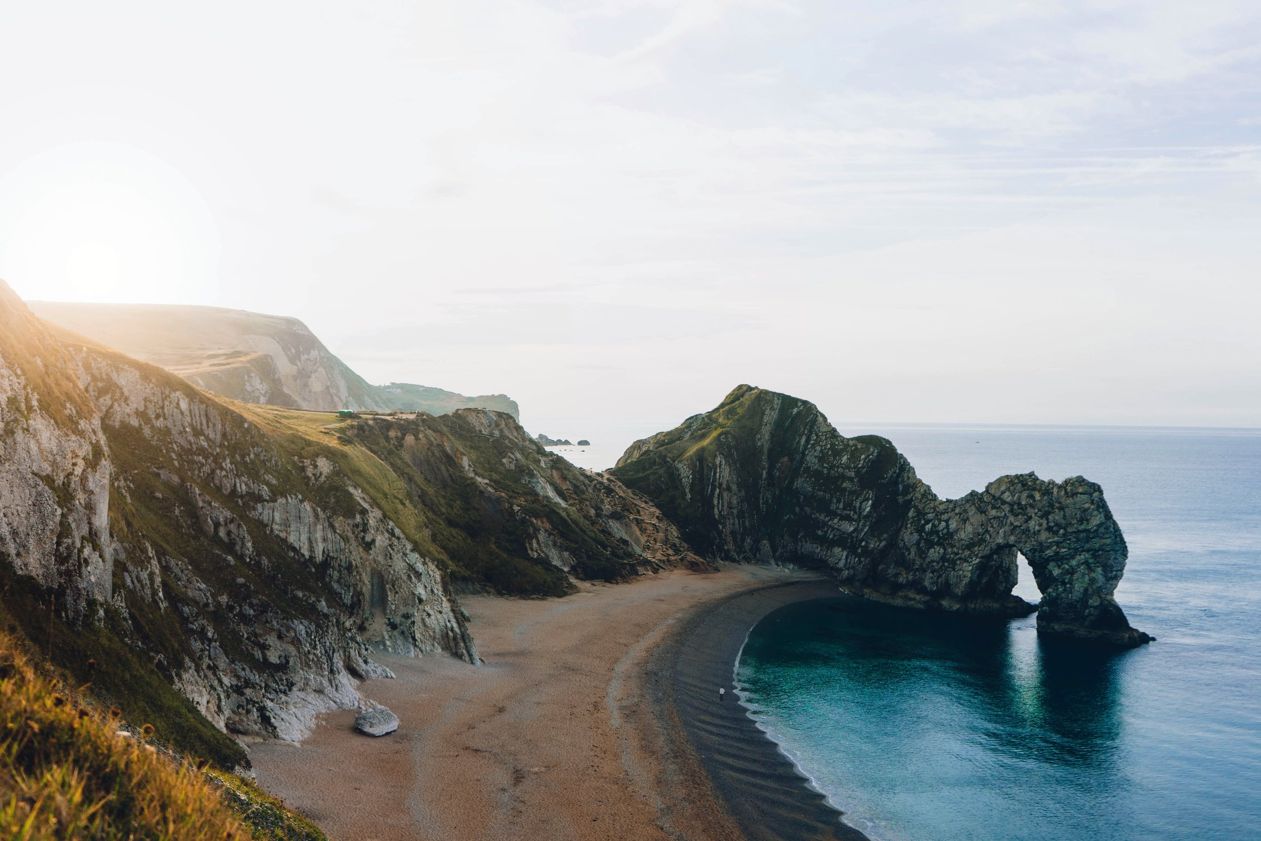 See the famous arch at Durdle Door by kayak