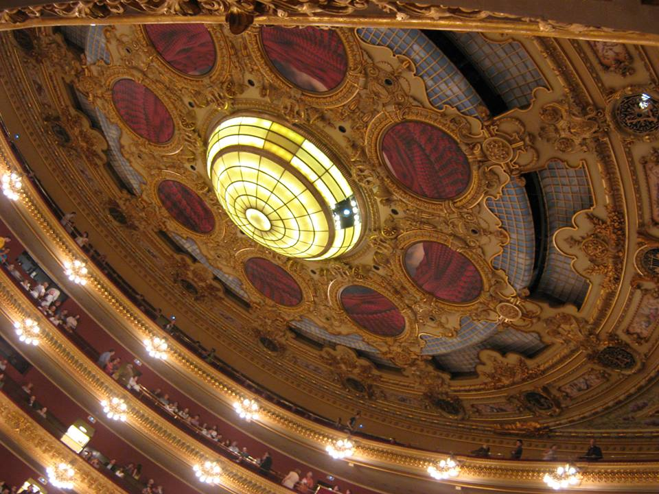 at the Gran Teatre del Liceu