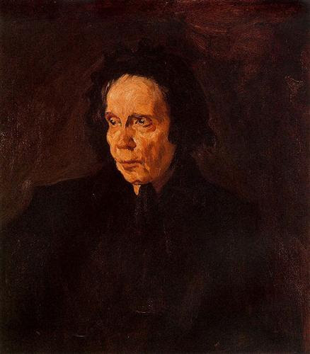 (  Portrait of Aunt Pepa  , Pablo Picasso)
