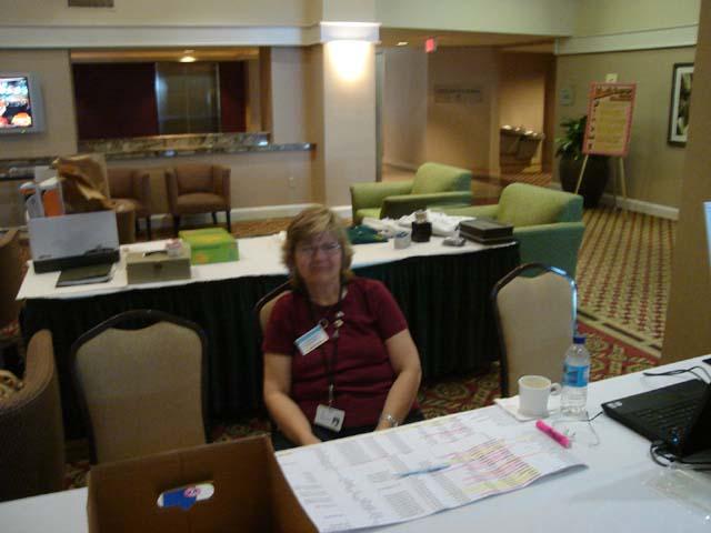 Rosemary Bauman manning the Registration Table.jpg