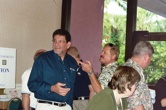 Jeff Maasch and Rosemary Baumann at registration.jpg