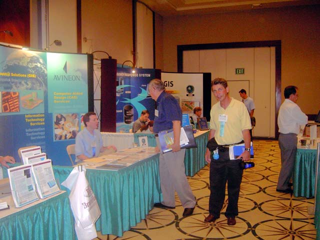 Attendees Checking Vendors Products.jpg