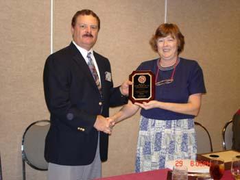 Jeff Maasch receiving award for service as Designations Chair.jpg