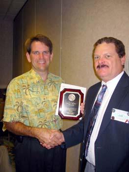 Kevin Brown receiving Treasurers Award.jpg