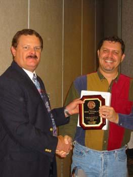 Mike Prestridge receiving Secretarys Award.jpg