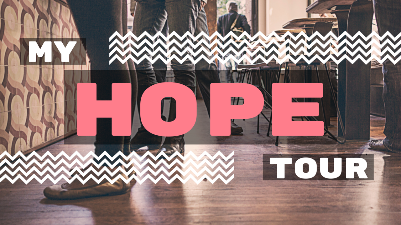 MyHopeTour: Find hope as you learn to overcome life-controlling issues such as self harm, suicidal thoughts, and eating disorders.