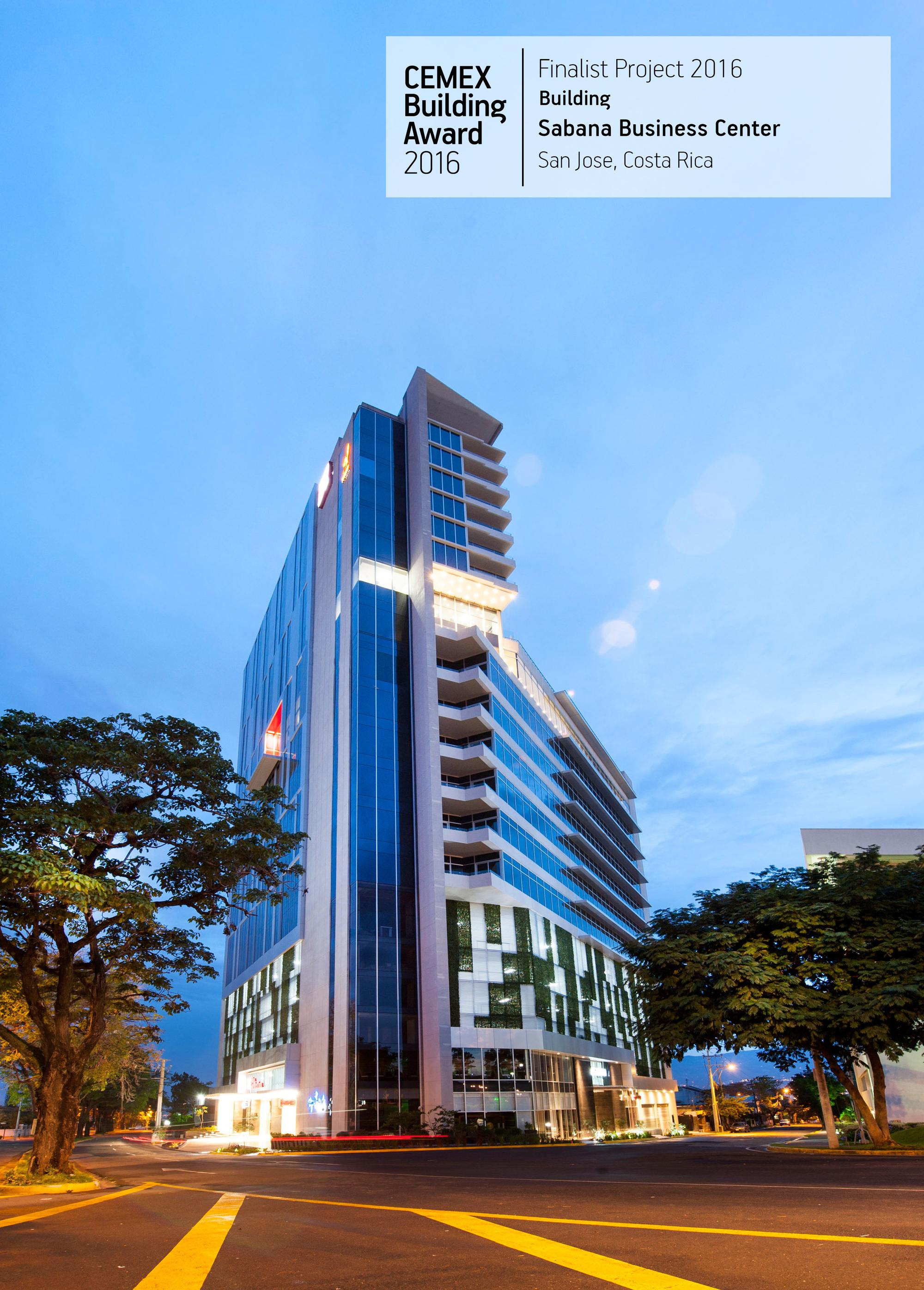 CEMEX Building Award 2016 Finalist