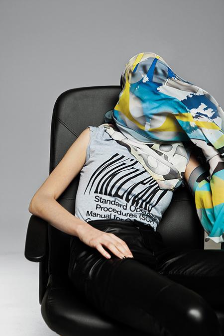 Metahaven,  WikiLeaks Merchandise,  2011 photography by Meinke Klein