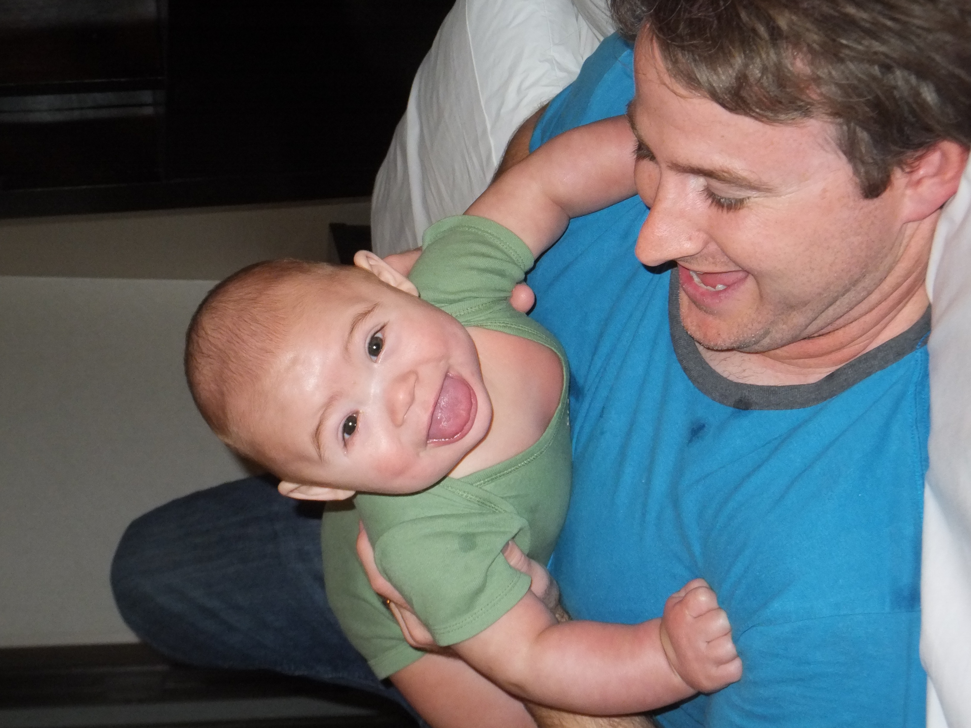 Playing with Daddy