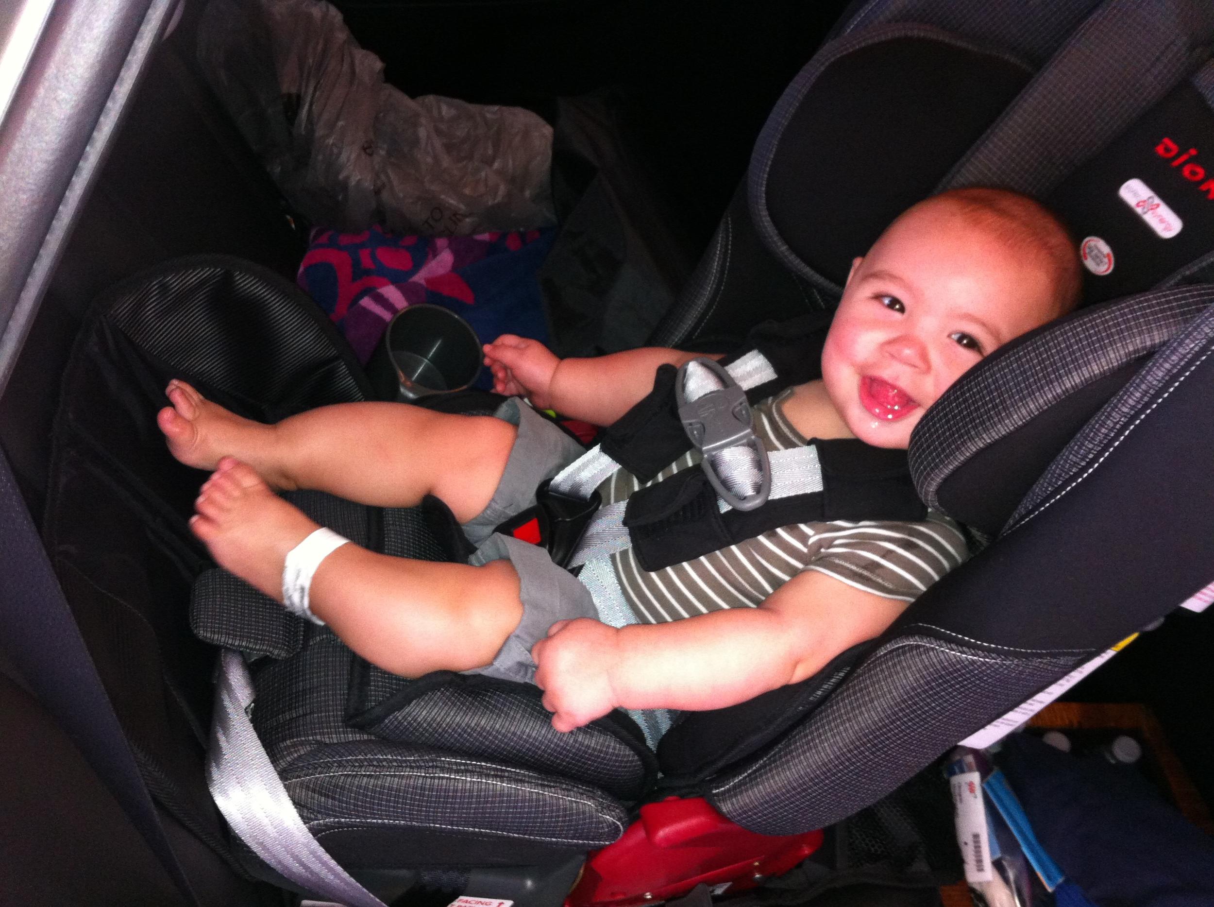 Diono Radian - Rainier model car seat on www.mybwsbaby.com