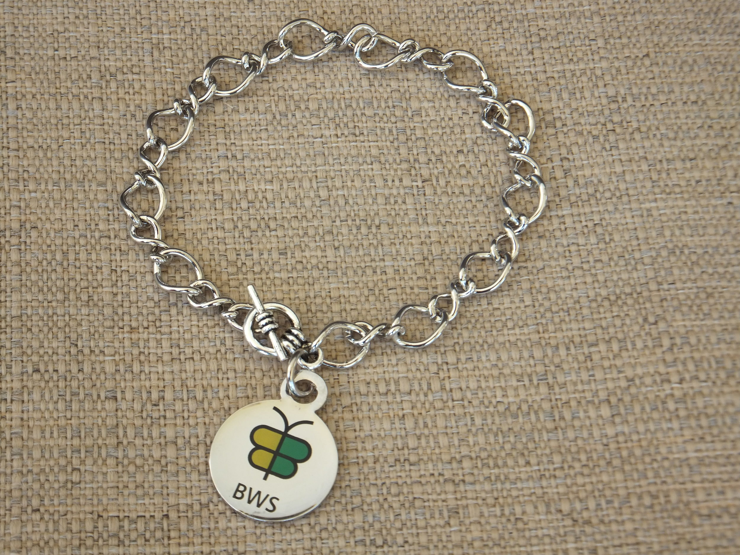 BWS Awareness charm Bracelet