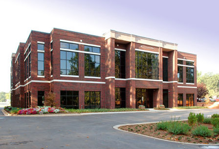 Analytical Force office building in Huntersville, North Carolina