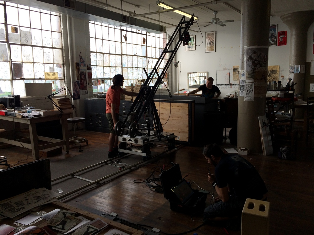 Techno Crane shot for Forced Perspective