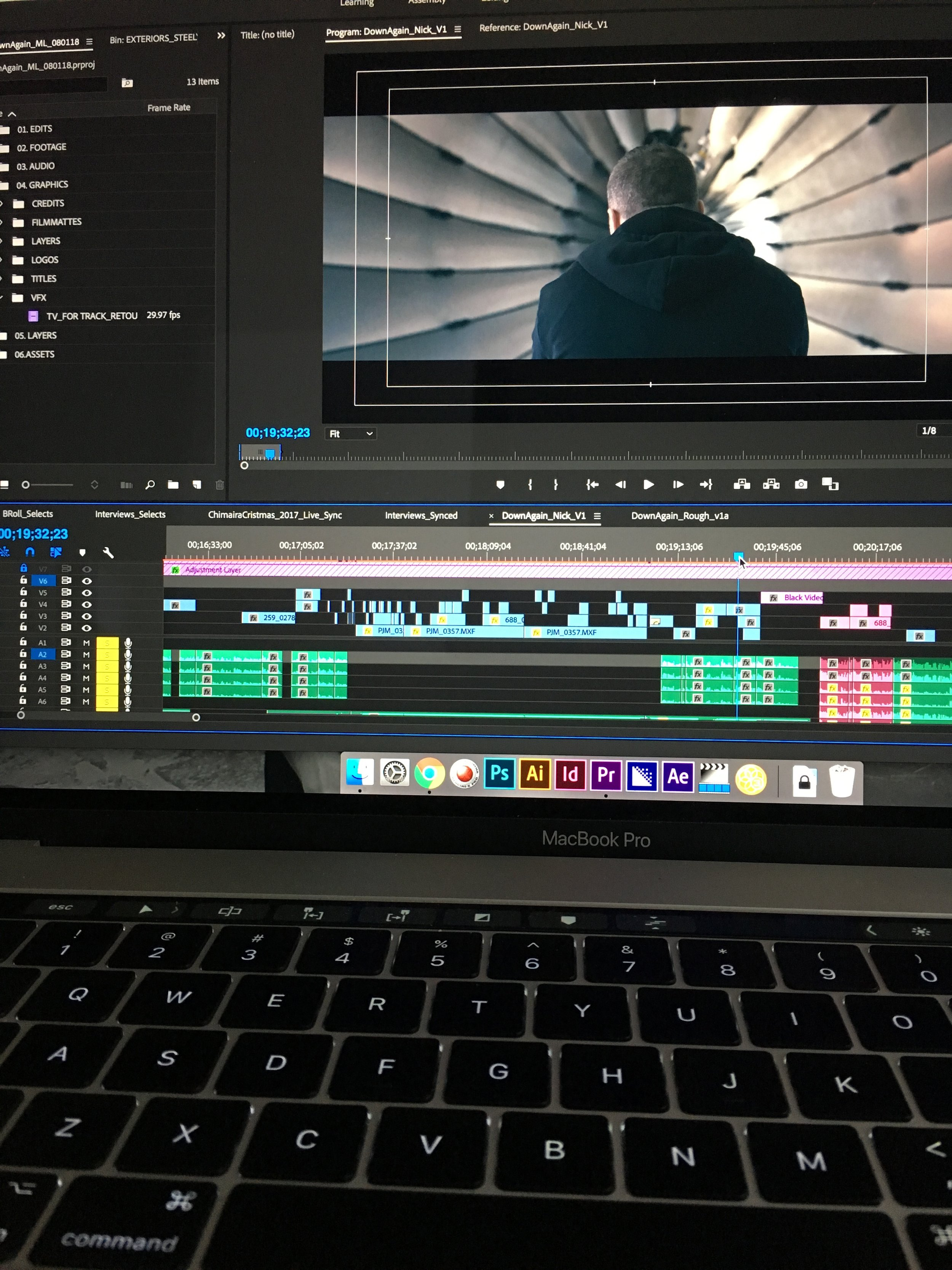 Editing for Down Again