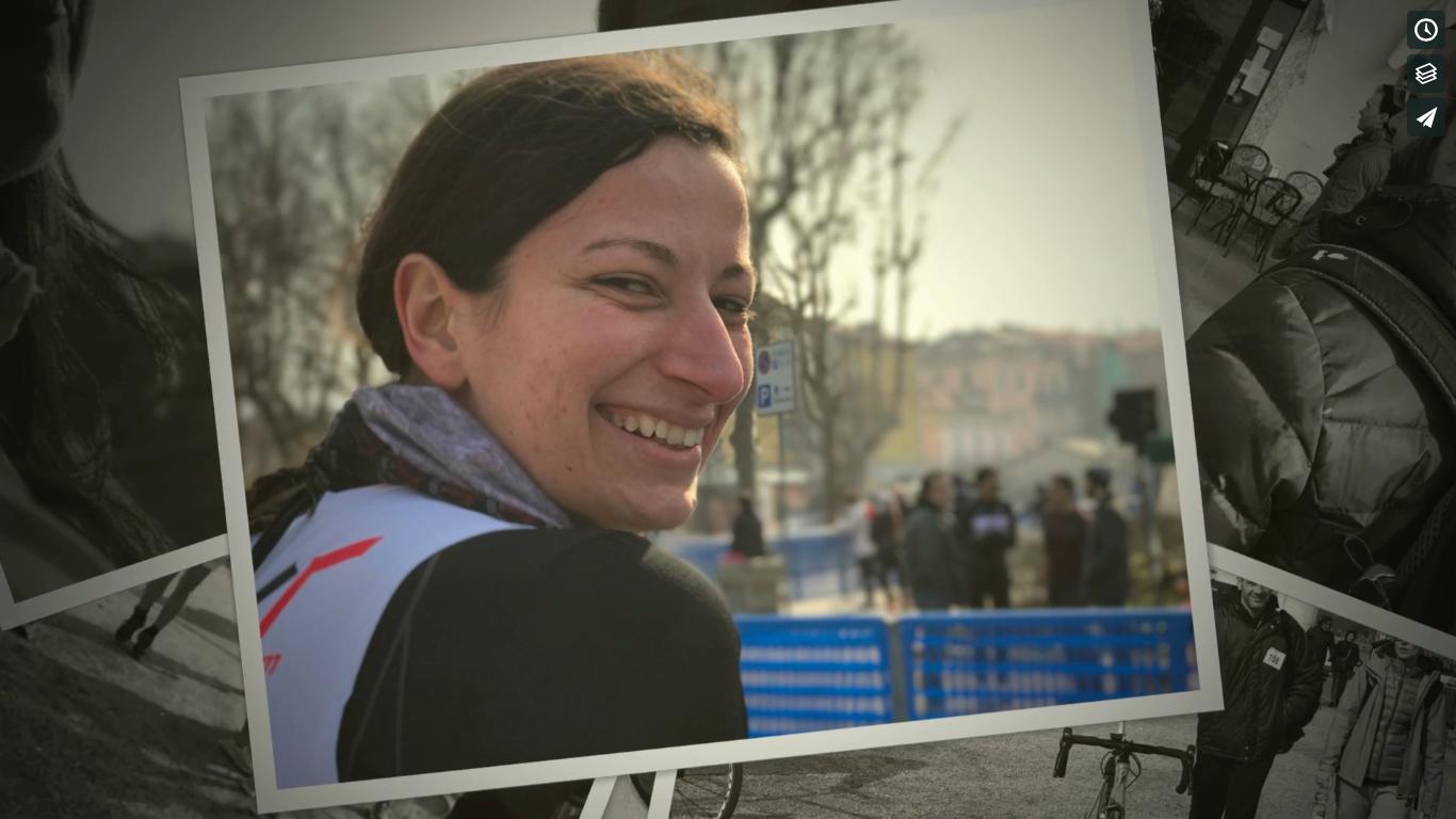 Giulia al suo esordio al Duathlon Sprint di Lecco