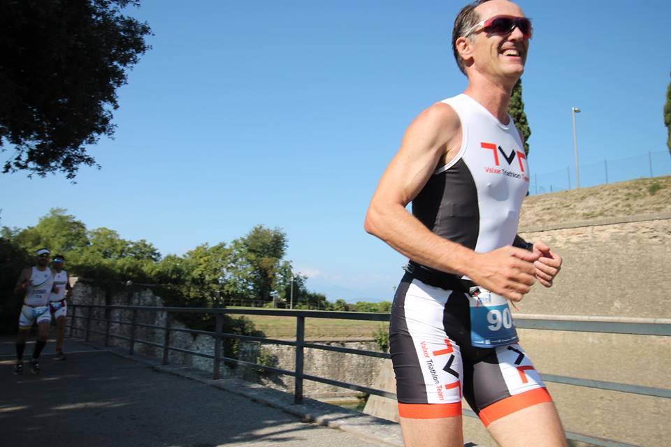 Federico al Triathlon Olimpico di Peschiera del Garda 24.09.2016