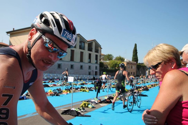 Christian al Triathlon Olimpico di Peschiera del Garda 24.09.2016