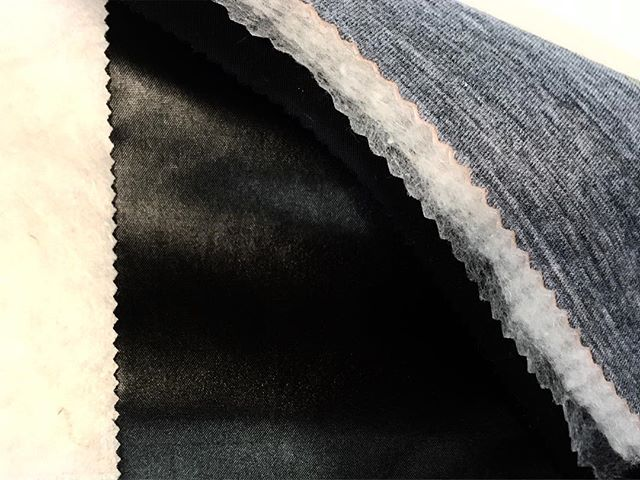 Putting it all together . Technical wool layering for the perfect 3 layer insulation #merinowool #fabrictesting #blurrdesign #layering #detailshots #process #productdesign #researchanddevelopment