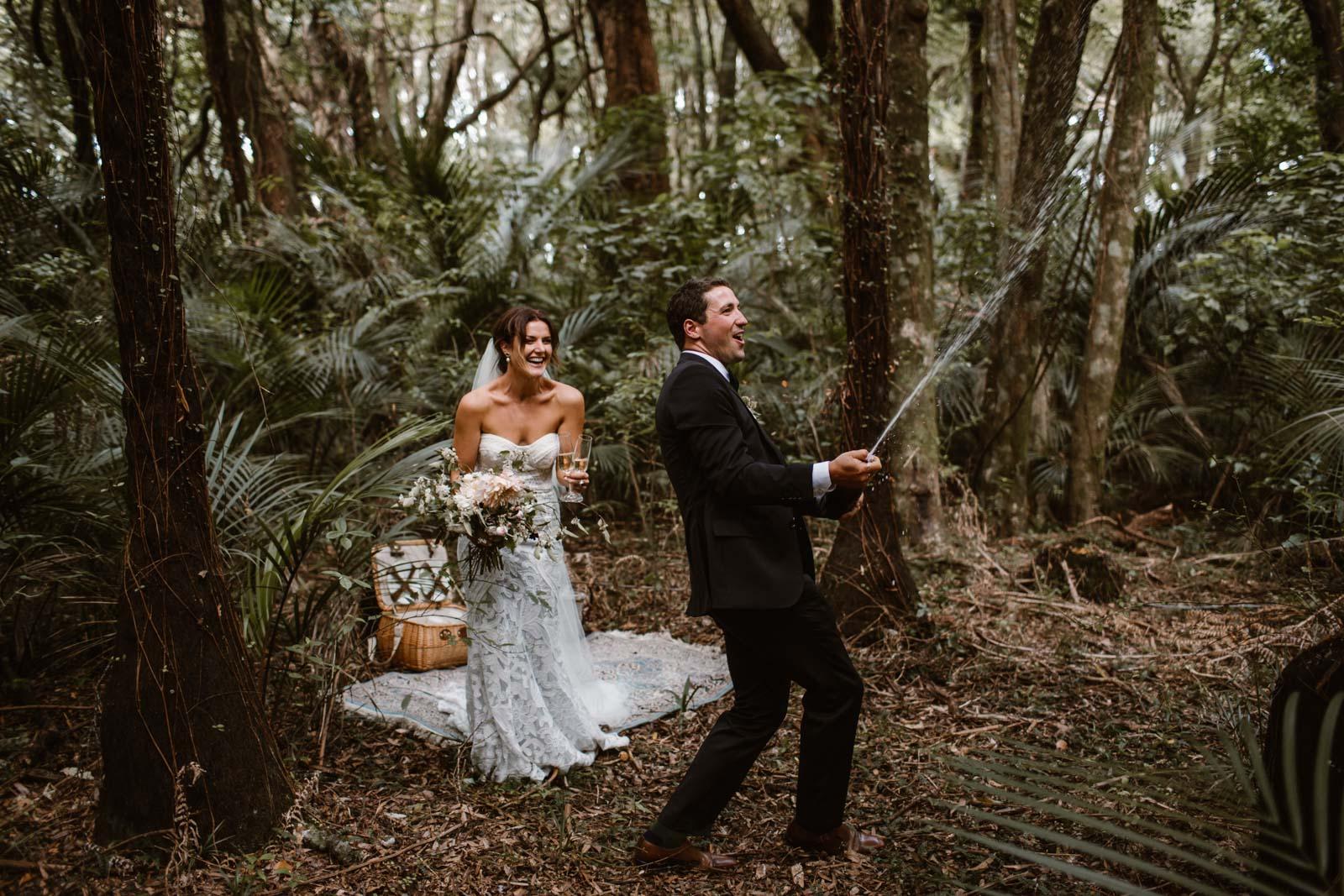 Sam + Sophie   Raglan Wedding