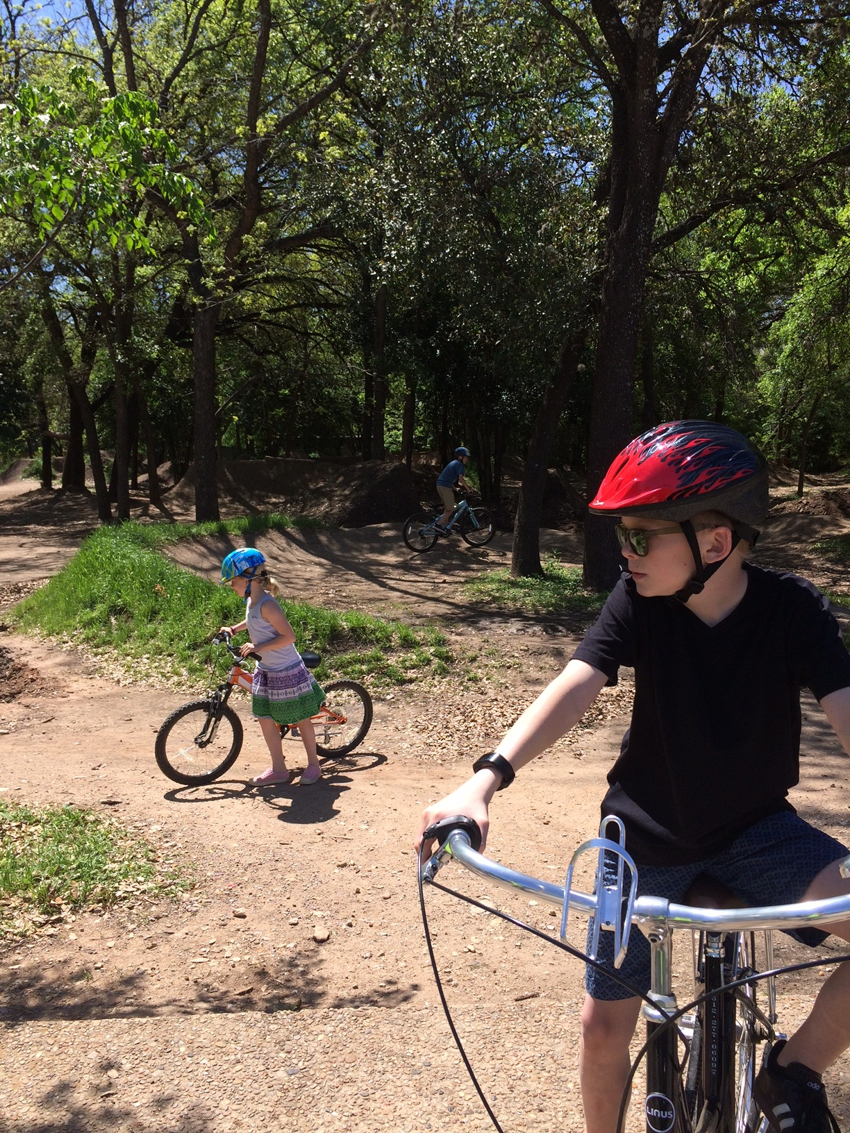 Showing the kiddos the 9nth Street BMX Park