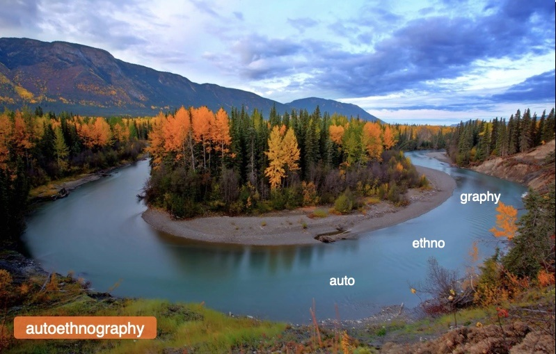 - From research presentation - Endako River, central BC.
