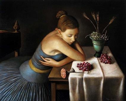 Painting by  Ilya Zomb