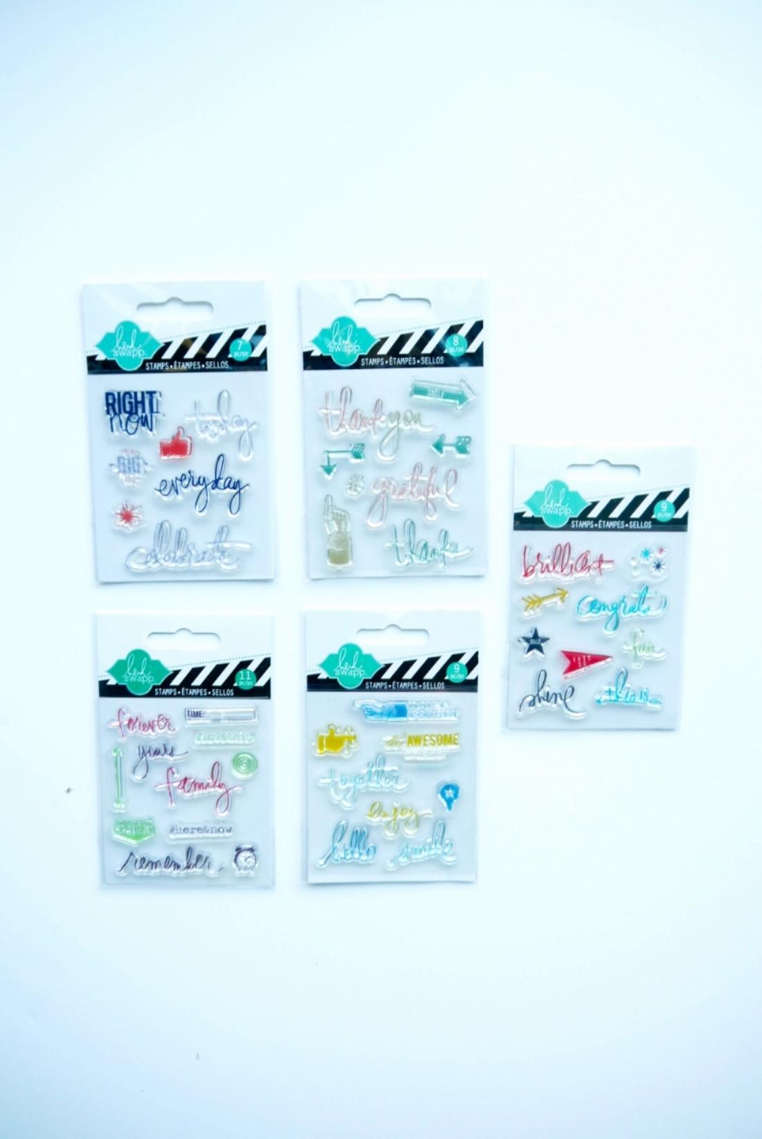 Heidi Swapp Stamps
