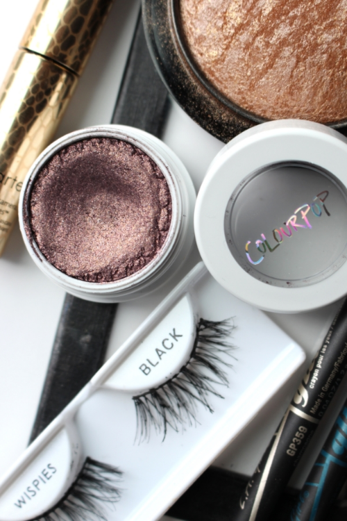 Close of up Colour Pop Cricket Super Shock Shadow